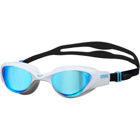 arena The One Mirror Schwimmbrille blue/white/black